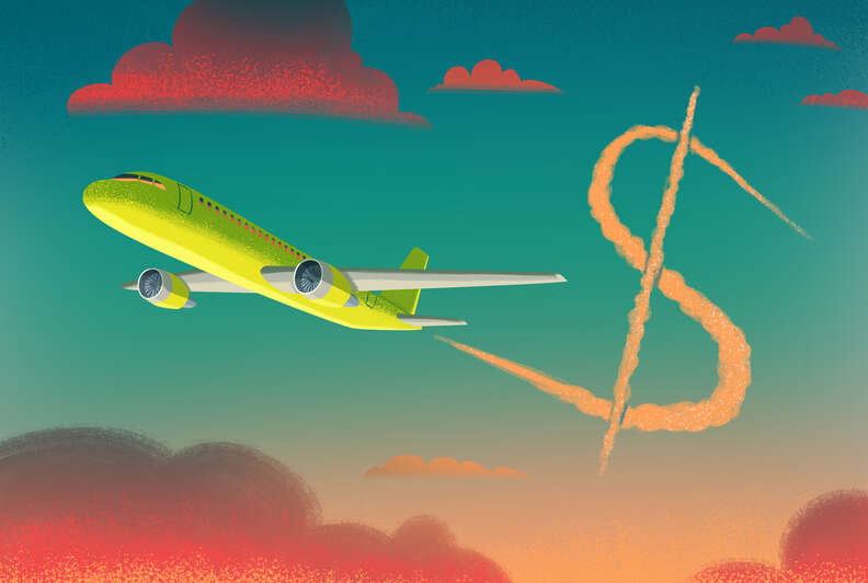 flying on cheap airlines