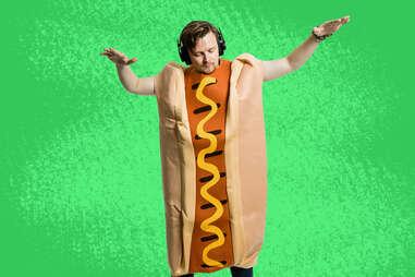 Snapchat Hot Dog Costume
