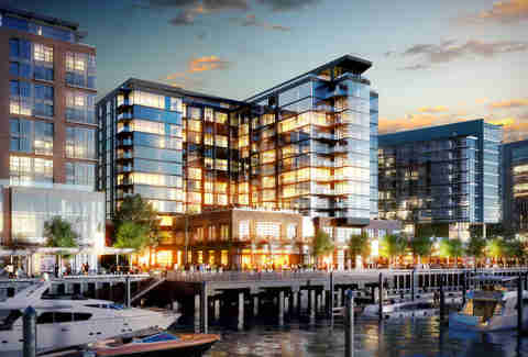 The Wharf rendering