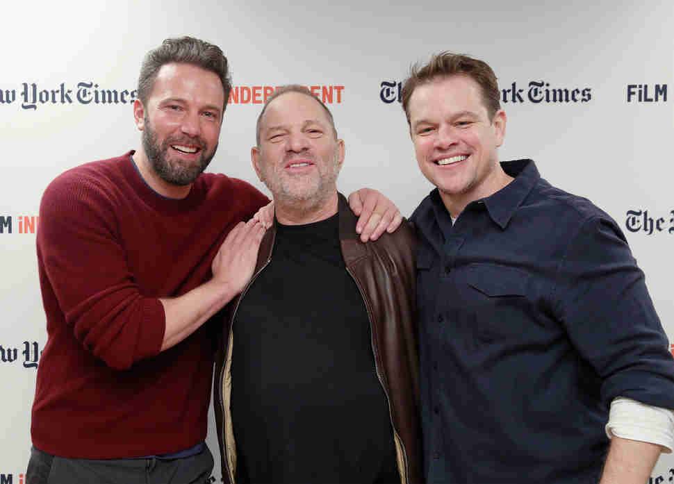 harvey weinstein matt damon ben affleck