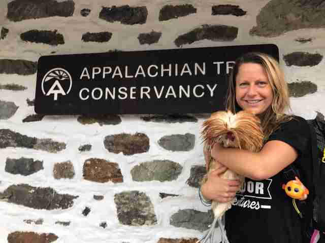 Appalachian trail rooster rescue