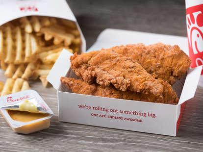 chick-fil-a spicy chicken