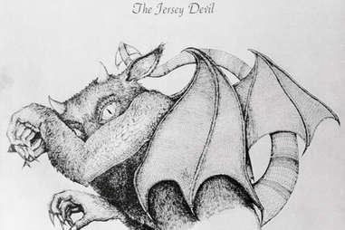 jersey devil illustration