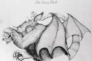 jersey devil illustration