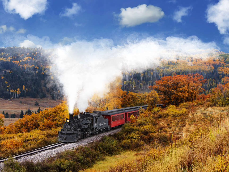 Open Gas Stations Near Me >> Scenic Train Rides for Fall Foliage Across America - Thrillist