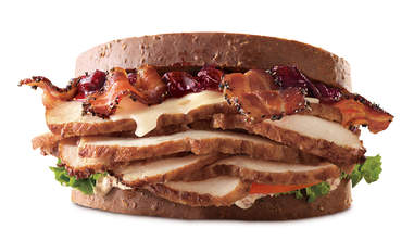 arby's deep fried turkey
