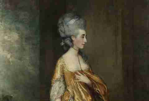 Mrs. Grace Dalrymple Elliott by Thomas Gainsborough
