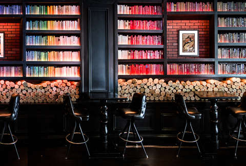 Amazing Best Book Bars In America 10 Book Themed Bars For Literary Theyellowbook Wood Chair Design Ideas Theyellowbookinfo