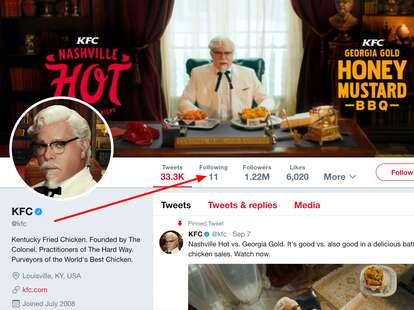 KFC Twitter
