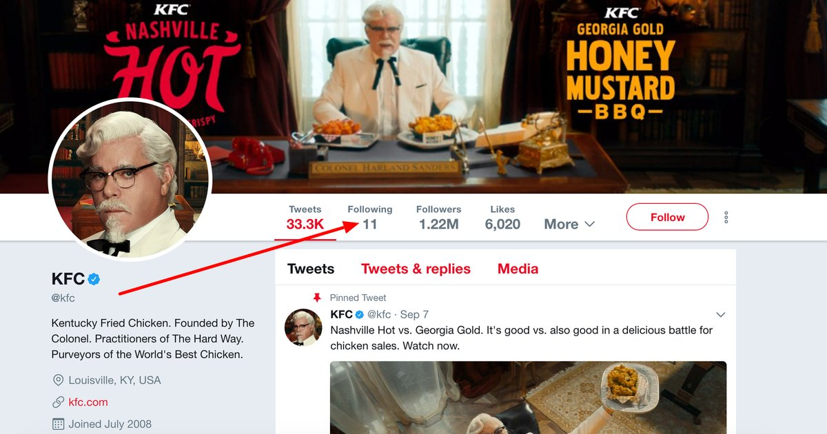 Kfc Jokes: KFC's Twitter Account Has A Buried Joke