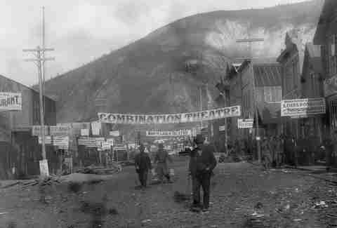 dawson city frozen time