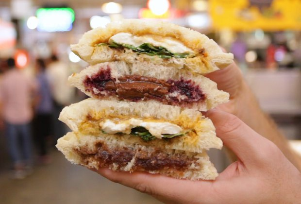 This LA Shop Makes Peanut Butter & Jelly Sandwiches, Without the Crust