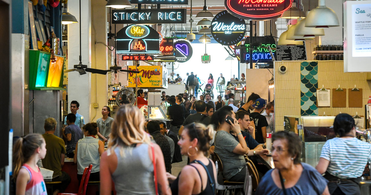What to Eat at LA's Iconic Grand Central Market