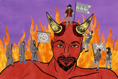the war for satan