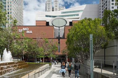 the San Francisco Museum of Modern Art