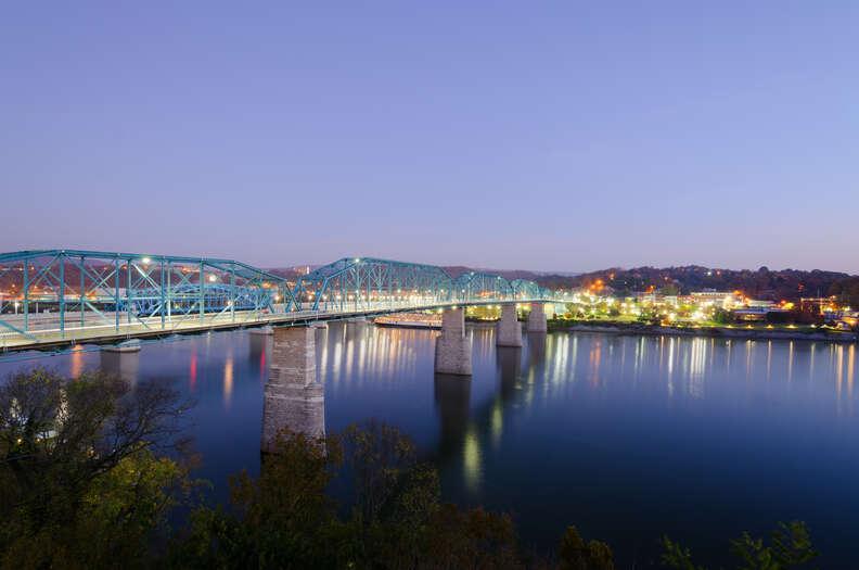 The Walnut Street Bridge