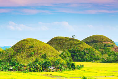 The Chocolate Hills. Bohol, Philippines