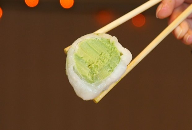 This NYC Shop Serves The Only Ice Cream Eaten With Chopsticks