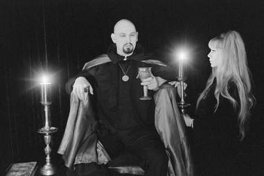 Anton LaVey, founder of the Church of Satan