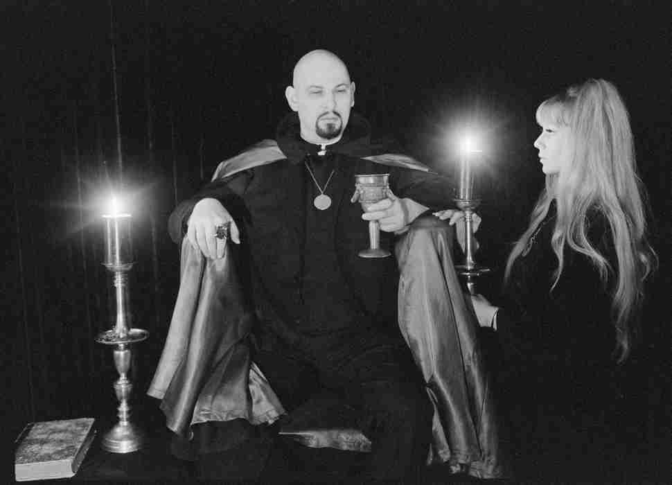 Anton LaVey, founder of the Church of Satan