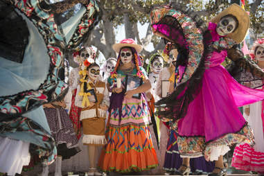 Olvera Street Day of the dead