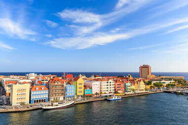 Downtown Willemstad, Curaçao