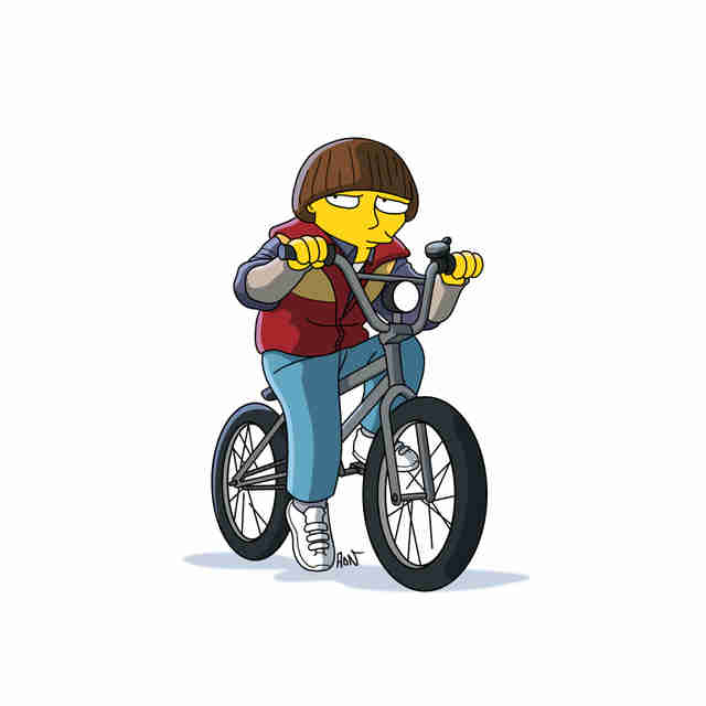 Simpsons Stranger Things