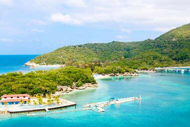 Labadee island, Haiti