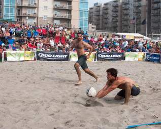 Seaside Beach Volleyball