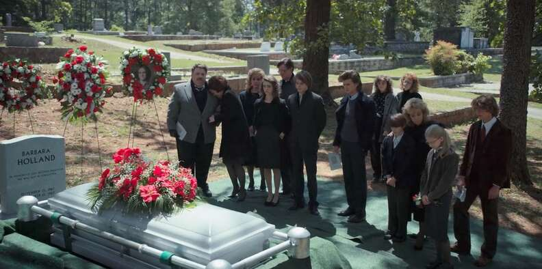 Stranger Things Barb funeral