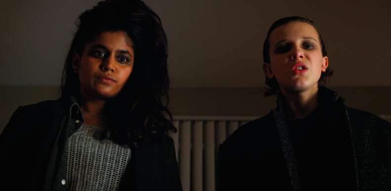 Kali (Eight) and Eleven in Stranger Things 2