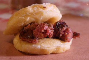 This Texas BBQ Sandwich Uses Glazed Donuts Instead of Bread