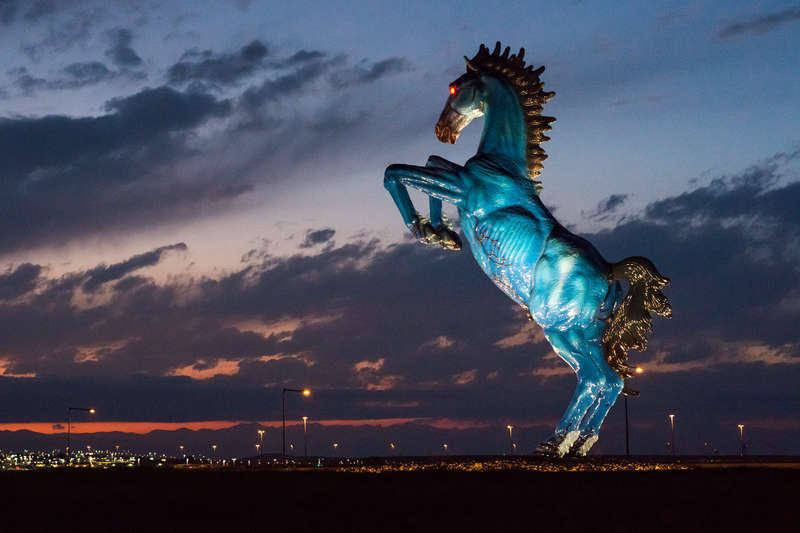 Image result for picture of the pale horse at denver airport