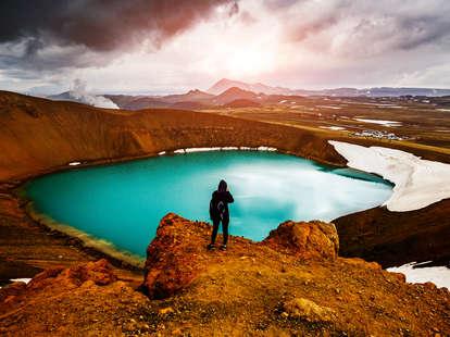 the geothermal valley Leirhnjukur