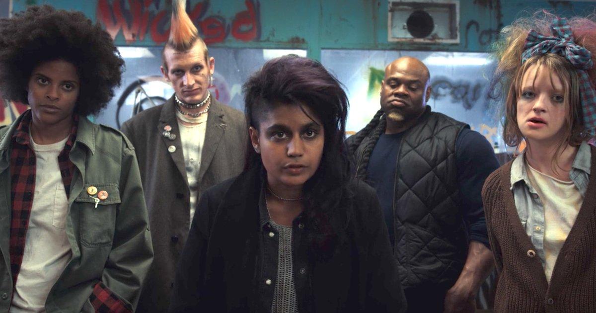 """Image result for stranger things season 2 punks"""""""