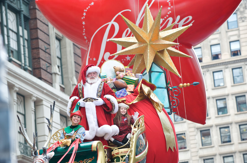 Food And Drink At Macys Thanksgiving Day Parade