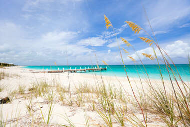 Providenciales island in Turks and Caicos