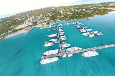Marina in Turks and Caicos