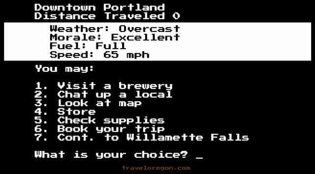 new oregon trail game