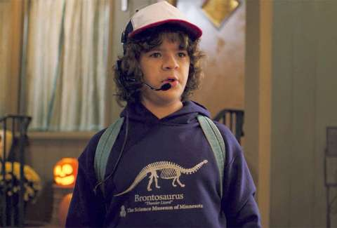 stranger things brontosaurus shirt