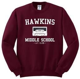 hawkins middle school sweatshirt