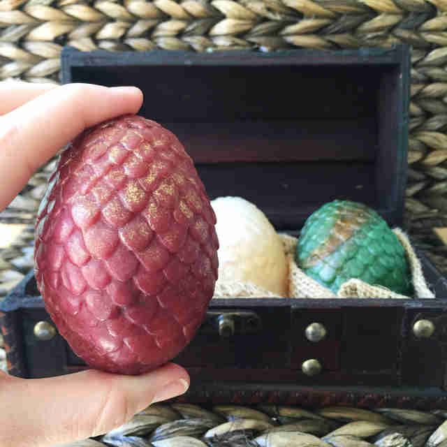 game of thrones dragon's egg soap