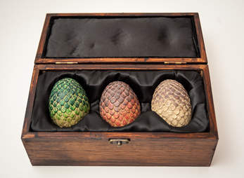 game of thrones dragon egg replica