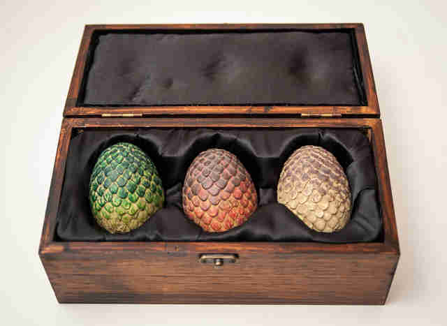 game of thrones dragon egg replica