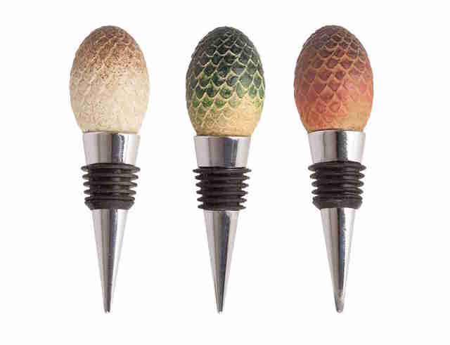 game of thrones dragon egg wine stoppers