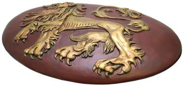 game of thrones lannister shield replica