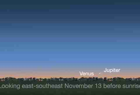 venus jupiter pass