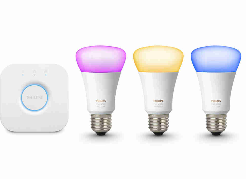 philips hue color lightbulb kit