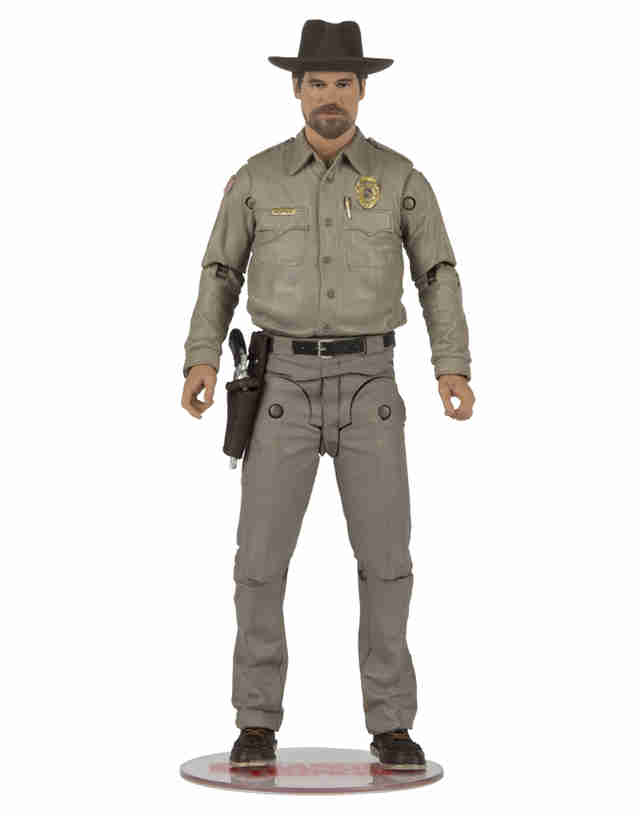 chief hopper MacFarlane Toys stranger things