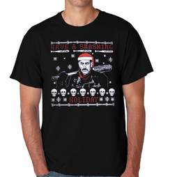 The Walking Dead Negan Smashing Holiday Adult Tee